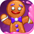Gingy Story Deluxe: match 3