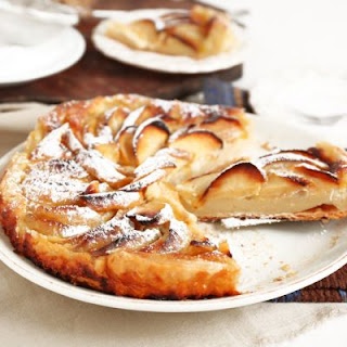 Flaky French Pastry Shop Apple Tart