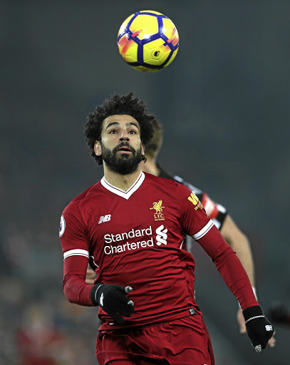 Liverpool's Mohamed Salah. Picture: REUTERS
