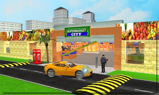 Drive through Supermarket 3D
