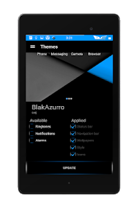 Blak Azurro  CM12-13 Theme screenshot 21