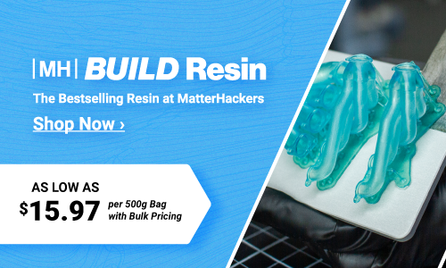 MH Build Resin: The bestselling Resin at MatterHackers