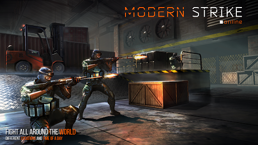 Modern Strike Online - FPS Shooting games free screenshot 18