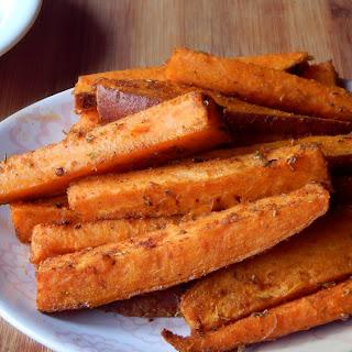 Fried Sweet Potato Fries Pan Fried Recipes