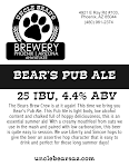 Uncle Bear's Pub Ale