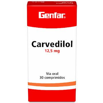 Carvedilol Genfar 12.5Mg   Comprimidos Caja X30Com.