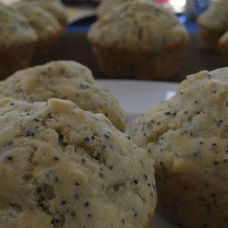 Almond Poppyseed Muffins.