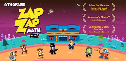 Your 4th grader can learn math with a fun experience in this one-stop math app.