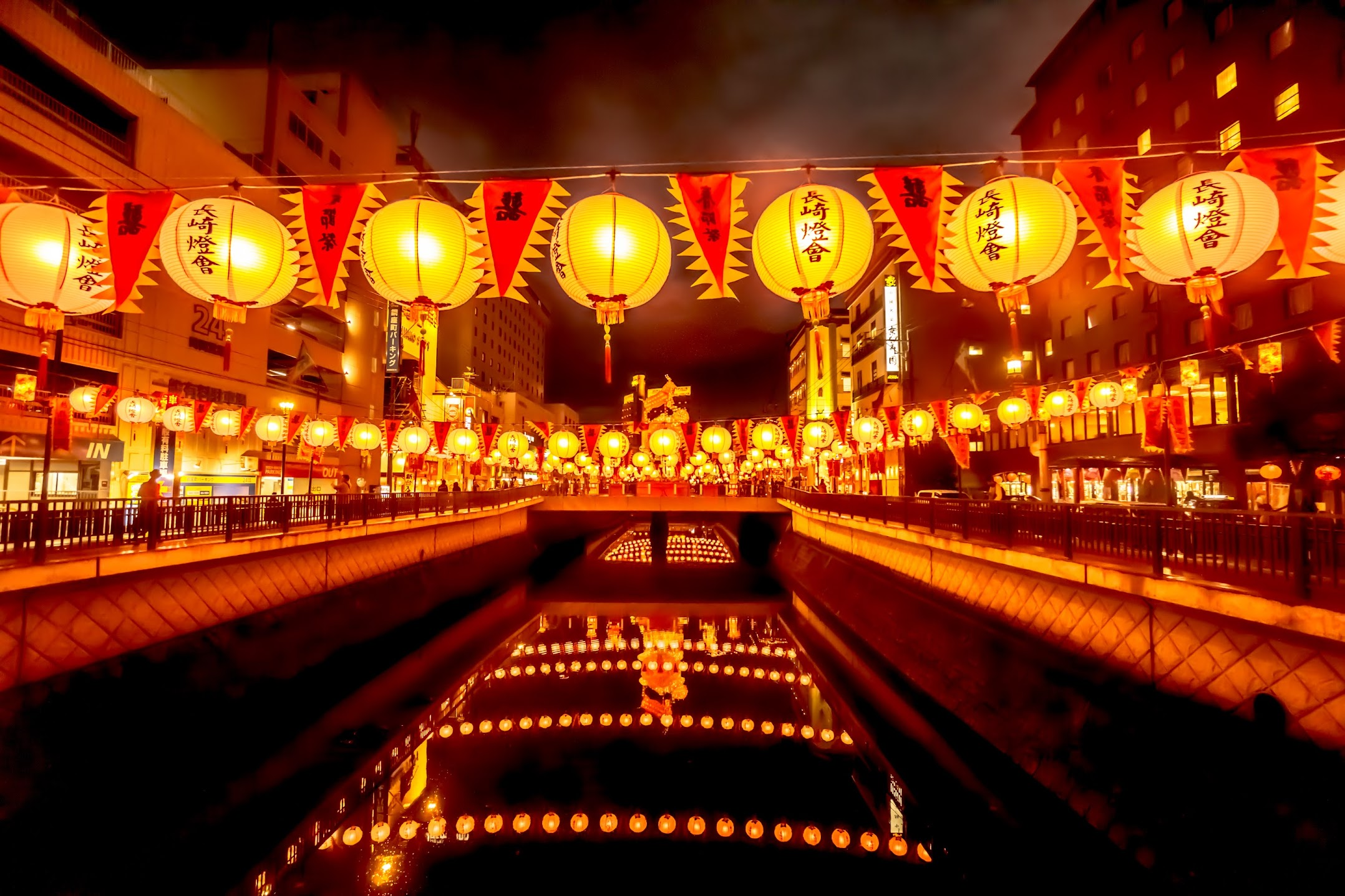 長崎ランタンフェスティバル 中華街1