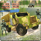 US  Army  Cargo Truck Driver : Offroad Duty 3D