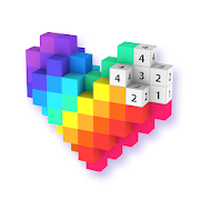 Voxel - 3D Color by Number & Pixel Coloring Book‏ APK