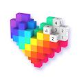 Voxel - 3D Color by Number & Pixel Coloring Book apk