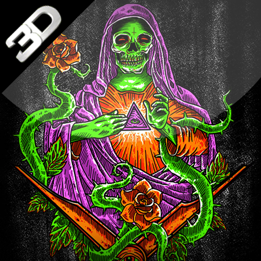 Santa Muerte 3D Live Wallpaper – Applications sur Google Play