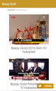 Besay Gold- screenshot thumbnail