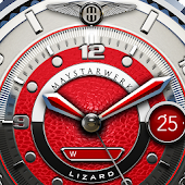 Red Lizard Watch Face