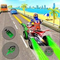Light Bike ATV Race Shooting Battle icon