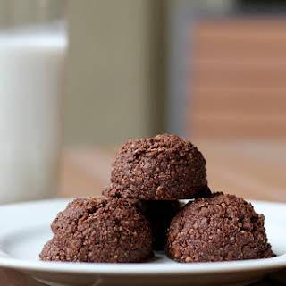 Chocolate Coconut Macaroons.
