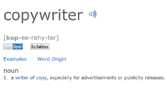 What Is A Copywriter  Copywriter Definition  The Write Cure Yes  Years Into My Profession I Still Get The Blank Look From Many When  I Answer Im A Freelance Copywriter So Heres A Definition To Clear Up  Any