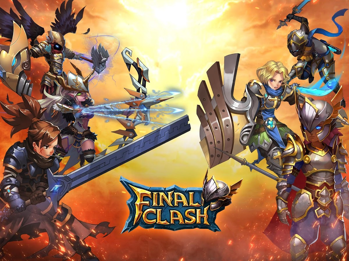 Final Clash -3D FANTASY MMORPG- screenshot