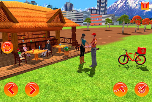 bmx bicycle pizza delivery boy 2019 screenshot 2