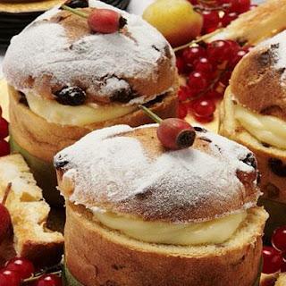 Mini Italian Panettone Cakes Recipe