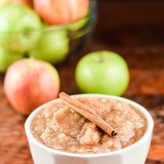 Easy Slow Cooker Homemade Apple Sauce