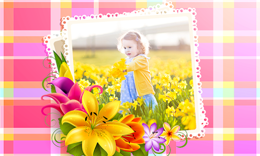 Flowers Photo Frames 8