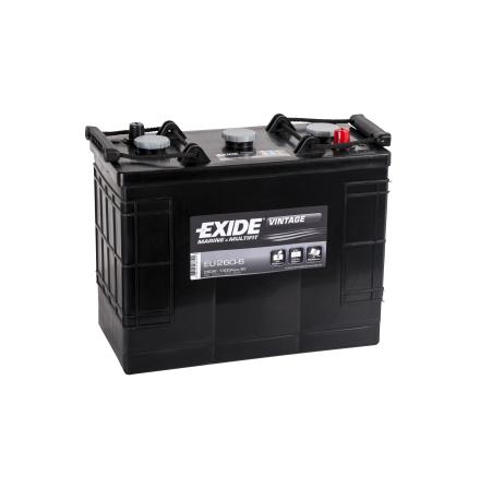 Startbatteri Tudor 6V/260Ah