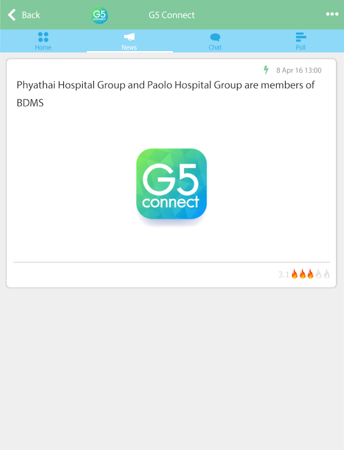 G5 Connect- screenshot
