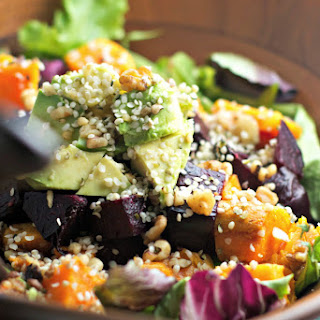Superfood Salad With Beets And Sweets
