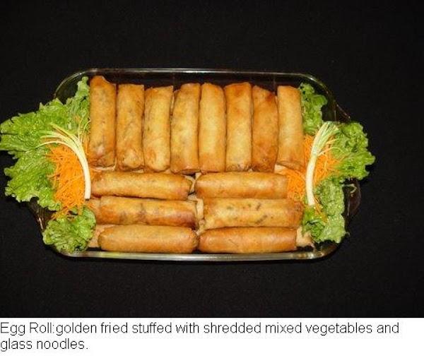Pam's Pork And Shrimp Eggrolls Recipe