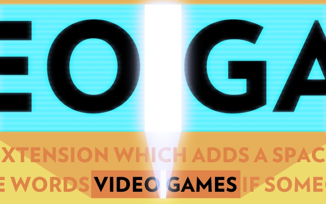 It's Video Games