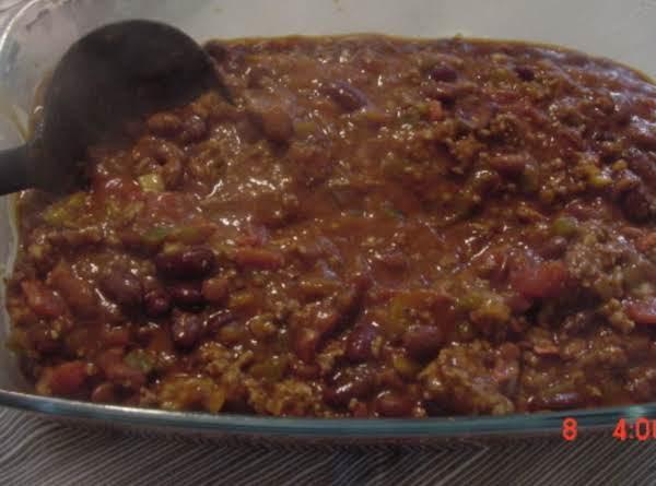 Tailgate Chili Recipe