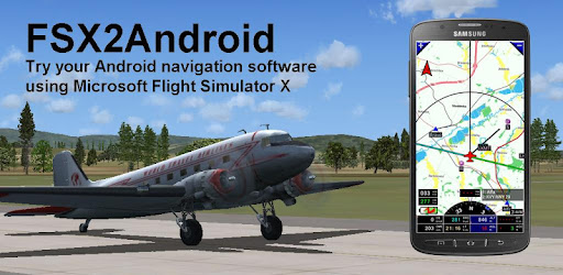 Microsoft Flight Simulator X position data to Android device...