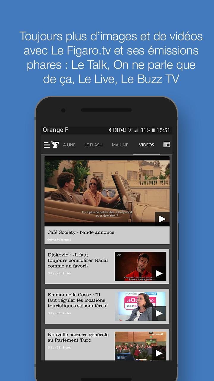 Le Figaro.fr: Actu en direct Screenshot 3