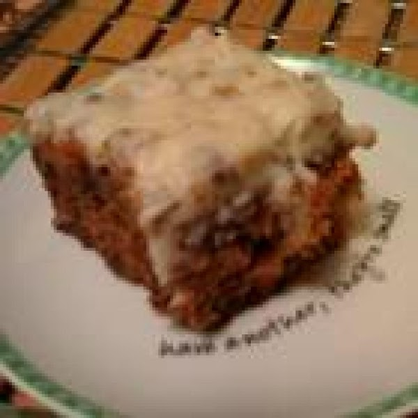 The World's Best Carrot Cake Recipe