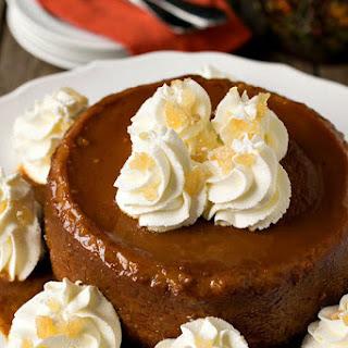 New England Caramel Pumpkin Pudding.