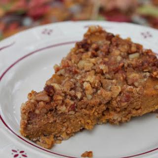 Pumpkin Streusel Pie (Grain-Free, Dairy-Free, Refined Sugar-Free)