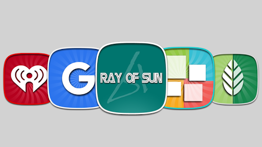Ray of sun Icon Pack app (apk) free download for Android/PC/Windows screenshot
