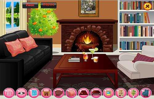 decorating games for girls screenshot - Home Decor Games