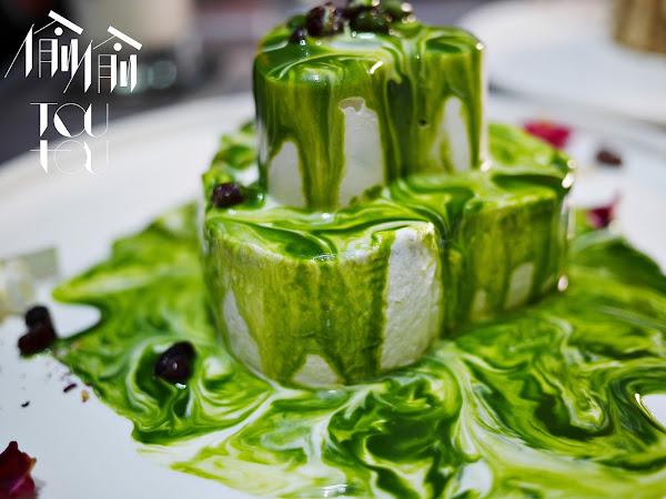 台中西區 偷偷 Toutou Cuisine,人氣透明屋視覺甜點,假日通常一位難求