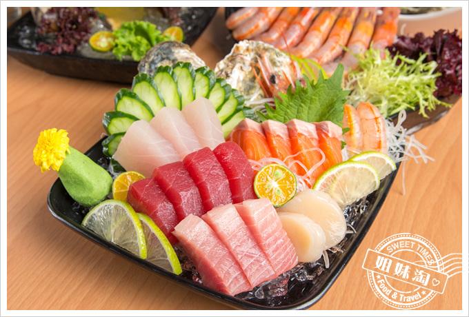 蠔蝦先生海景生魚片總匯