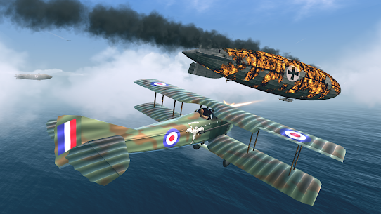 Warplanes: WW1 Sky Aces 1.3 (MOD + APK) Download 2