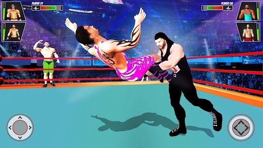 Grand Tag Team Wrestling Game: Ring Fighting Games 2