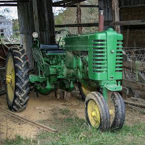 Grandpa's Tractor by Craig Pifer - Transportation Other ( farm, john deere mt, grandpa's tractor, john deere, transportation, tractor, kentucky )
