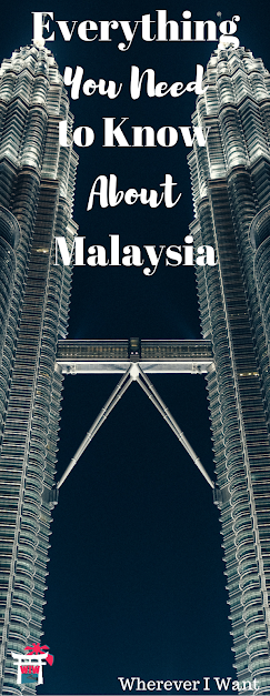 All about Malaysia's food, Wi-Fi situation, landscapes, accommodations, etc.