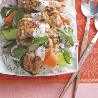 Drumsticks with Rice and Vegetables.