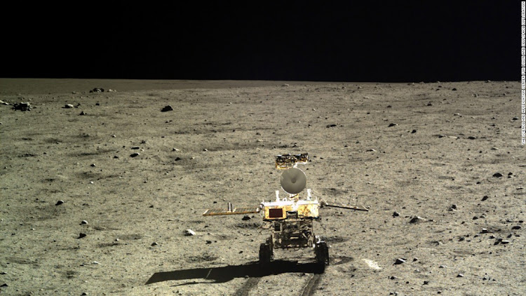 A Chinese moon probe in action. Picture: CHINESE SPACE AGENCY