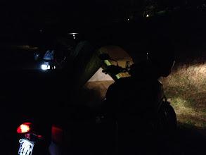 Photo: クロスツアラーミーティング。長い夜が始まります。(午後6時)