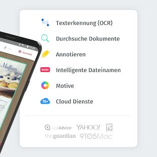 ScanPro App - PDF-Dokumentenscanner Screenshot